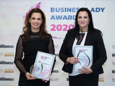 Отличия за Валентина Божева и Мирослава Георгиева от Bussiness Lady Awards