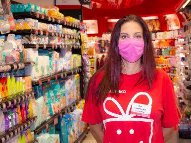 На първа линия в супермаркета - разказ от първо лице
