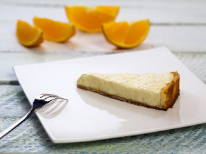 Портокалов чийзкейк