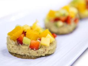 Постни плодови тарталети